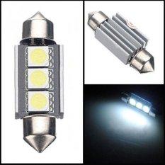 Universal Lampu Interior Mobil LED Canbus 36mm C5W DE342.3 SMD 12V 2 PCS - Mk02 - White