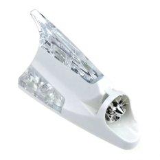 Universal Lampu Mobil Sirip Hiu Tenaga Angin - Putih