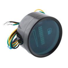 Universal Motor Motorcycle 52mm Fuel Meter Digital 12V System Ratio Level Gauge