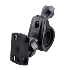 Universal Motorcycle Bicycle Holder Base For Cell Phone / Interphone / GPS - Black - Intl