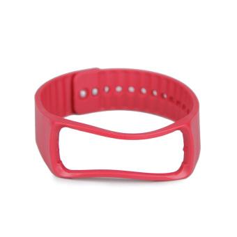 Untuk pengganti Samsung Galaxy Gear Fit cerdas perhiasan gelang tali pengikat pergelangan tangan Band Merah
