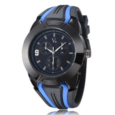 V6 Men FX-V6 Fashion Simple Wild Quartz Watch FX-V6-2-Blue