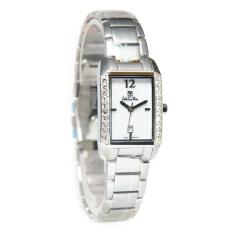 Valentino Rudy Jam Tangan Wanita Silver Stainless Steel VR117-2355S