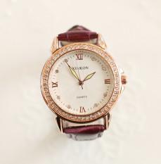 Versi Korea dari berlian tahan air benar-benar belt Shi Ying menonton wanita jam tangan