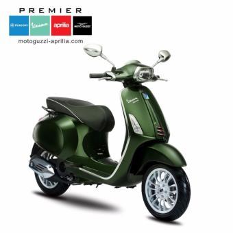 Vespa Sprint I-Get - Green (Verde Mushio) - OTR Jakarta