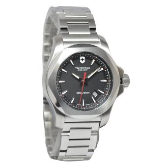 Victorinox Jam Tangan Pria Silver Stainless Steel INOX-241723-1