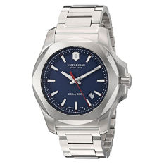 Victorinox Men's 'I.N.O.X.' Swiss Quartz Stainless Steel Casual Watch, Color:Silver-Toned (Model: 241724.1) (Intl) - Intl