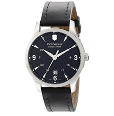 Victorinox Swiss Army Men's 241474 Alliance Black Dial And Strap Watch - Intl
