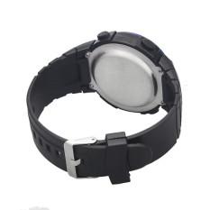 Waterproof Outdoor Mountaineering Sports Men Digital LED Quartz Wrist Watch Silver (Intl)