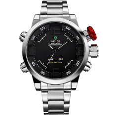WEIDE Watch Men's Watch Military Watches Sports Quartz Wristwatches 6-color Watch 12-month Guarantee WH 2309 (WhiteBlack)
