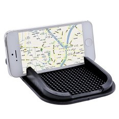 Whyus New Black Car Dashboard Sticky Mat Pad Anti Slip Gadget GPS Mobile Phone Holder