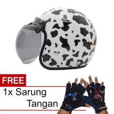 Wto Helmet Kids Pet Mc Queen Merah Daftar Harga Terbaru dan Source · WTO Helmet Retro