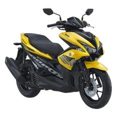 Yamaha Aerox 155 VVA Yellow - Khusus Tangerang dan Sekitarnya