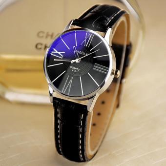 YAZOLE Watches Classical Women Leather Band Fashion Joker Bussiness Quartz Wrist Watch YZL315H-B-