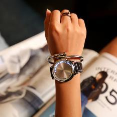 YBC Fashion Kulit Yang Memimpin Beberapa Band Jam Biru Waktu Tampilan Ringan Untuk Perempuan Hitam