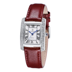 YJJZB Genuine Brand Watches Swiss Female Fashion Korean Ladies Watch Wholesale Red Leather Watch