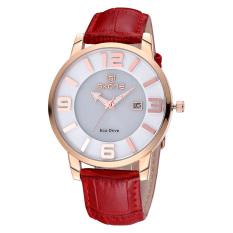 YJJZB Ms. SKONE Belt Table Light Energy Stereoscopic Digital Scale Quartz Watch With Calendar Watch Women