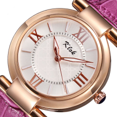 YJJZB The New Card Luo Klok Coffee Table Waterproof Female Korean Fashion Female Students Watch Roman Numerals