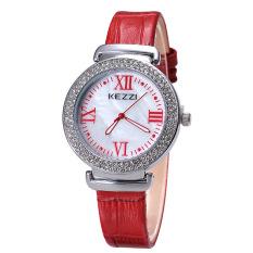 YJJZB The New Ke Kezzi Rome Purple Diamond Leisure Bamboo Shaped Belt Ladies Quartz Watch Watch Spot Wholesale