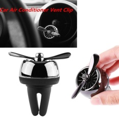 YOSOO Car Air Conditioner Outlet Vent Clip Air Freshener Propeller Shape Black - intl