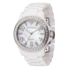 Yves Camani Cereste Women's Watch Quartz Ceramic White Mother Of Pearl Dial Ceramic Strap YC1077-B (Intl)