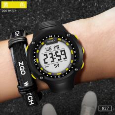 ZGO Kasual Berlari Hitung Waktu Tahan Air Jam Tangan Olahraga Jam Digitec