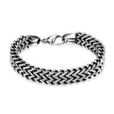 ZUNCLE Fashion 316L Stainless Steel Bracelet For Man (Gold) (Intl)