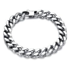 ZUNCLE Korean Imports Titanium Steel Chain Weave Bracelet Jewelry Fashion Jewelry Wholesale (Silver)