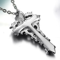 ZUNCLE Men's Classic Hip Hop Personality Magic Necklace (Silver) (Intl)