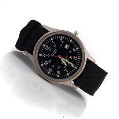 ZUNCLE Men's Fashionable Waterproof Quartz Wrist Watch 12025 (Black)