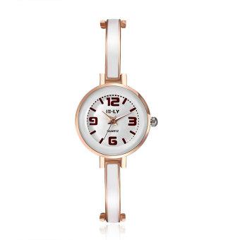 ZUNCLE Women Casual Fashion Quartz Wrist Watches (White)