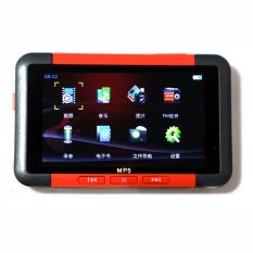 8GB 4.3inch LCD Screen Slim MP3 MP4 MP5 Music Player With FM Radio Video Movie (Red)
