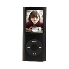 8gb Slim 1.8 LCD Mp3 / Mp4 Music Video FM Radio Media Player (Black) (Intl)