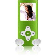 "8GB Slim Digital MP3 MP4 Player 1.8"" LCD Screen FM Radio Video Games Movie New (Green) (Intl)"