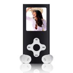 8GB Slim Digital MP3 MP4 Player 1.8inch LCD Screen FM Radio Video Games Movie Black