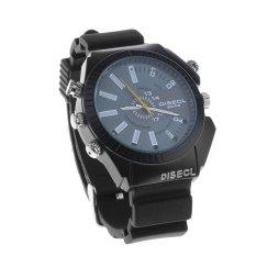 8GB Waterproof Watch Spy Camera Camcorder DVR 1080P With IR Night Vision Cam (Black)- INTL