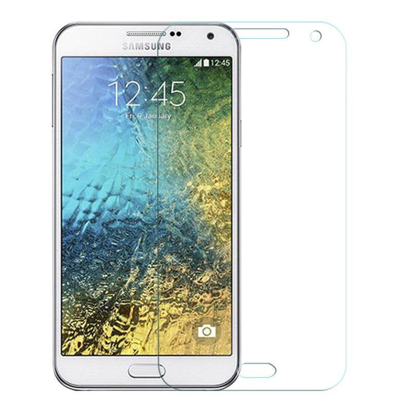 9H Premium Tempered Glass Screen Protector Film for Samsung Galaxy E7 (Clear) (Intl)