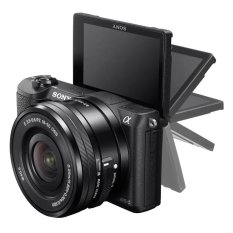 A5100 Mirrorless Camera 24.3MP With 16-50mm Lens (Black) (Intl)