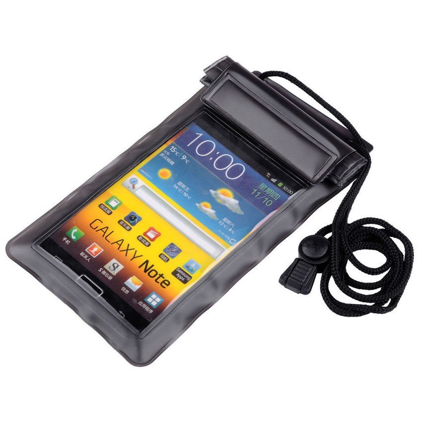 ABS Waterproof Universal Case Bag - Black