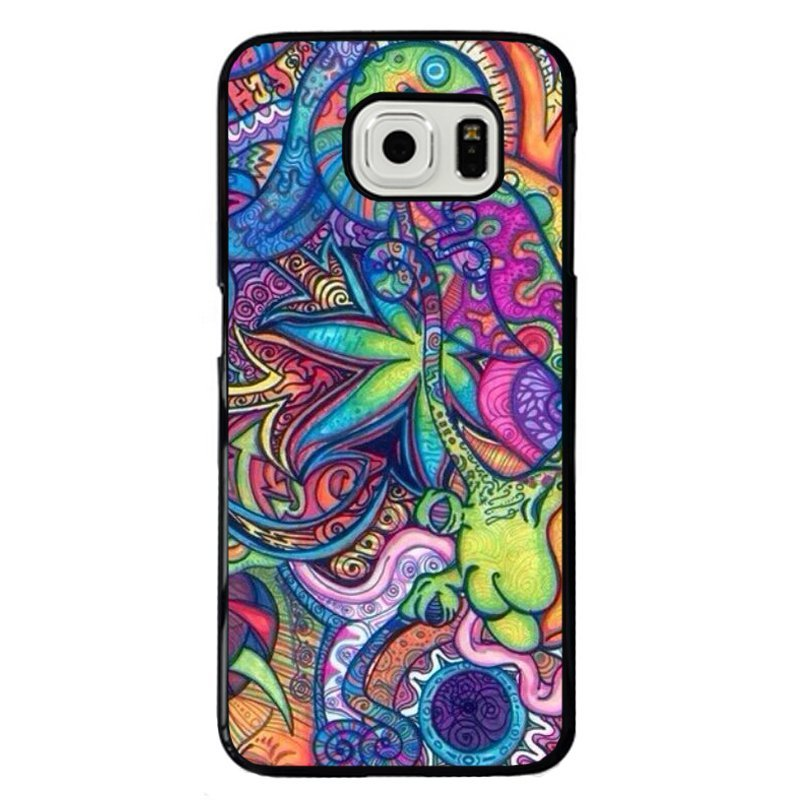 Abstract Graffiti Painting Phone Case for Samsung Galaxy S6 Edge (Multicolor)