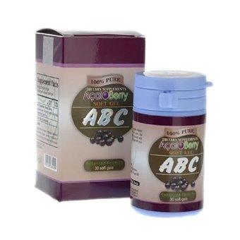 Acaiberry ABC Acai Berry Pelangsing Badan Herbal - 30 ...