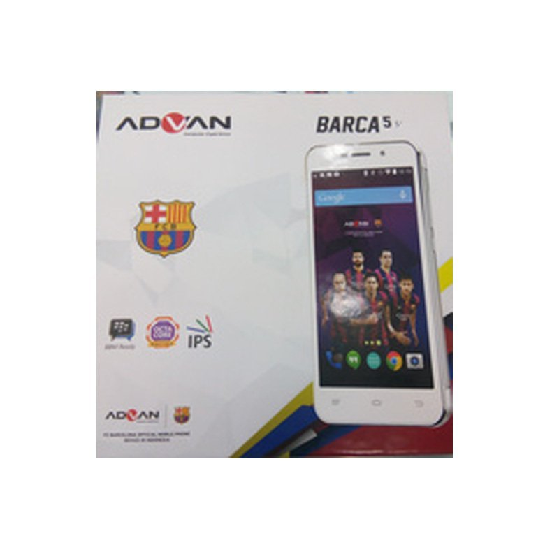 Advan Barca Phone S5Q - 8GB - Silver
