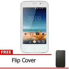 Advan Vandroid S4T - White + Free Flipcover HItam