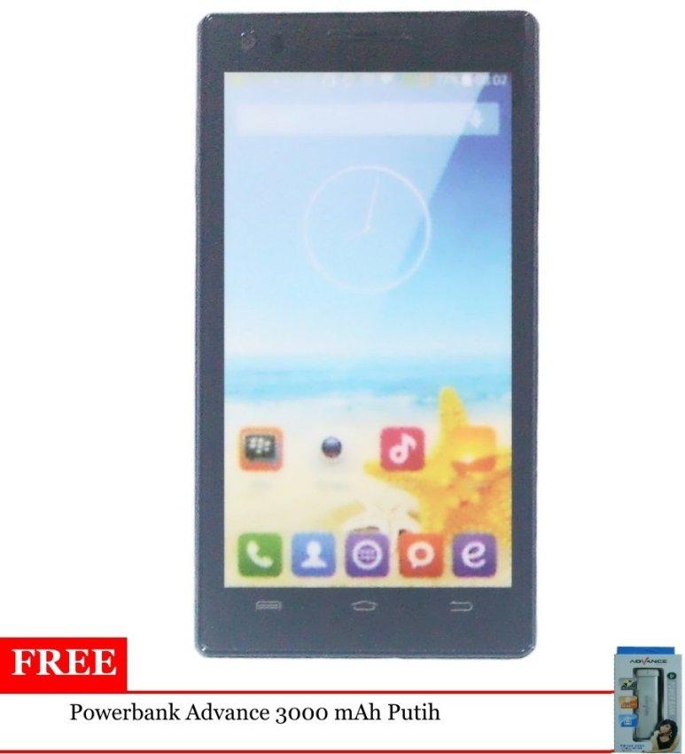 Advan Vandroid S50C - 8GB - Merah + Free Powerbank Advance