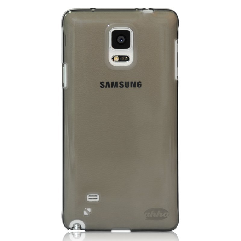 Ahha Soft Case Galaxy Note 4 - Clear-Black