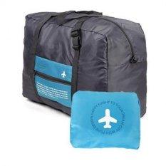 AIUEO Hand Carry And Foldable Bag Packing Organizers - Biru