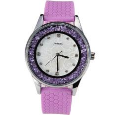 Aiweiyi SINOBI Women Crystal Diamond Original Quartz-watch 2016 New Silicone Ladies Wrist Watches High Quality Water Resistant Female