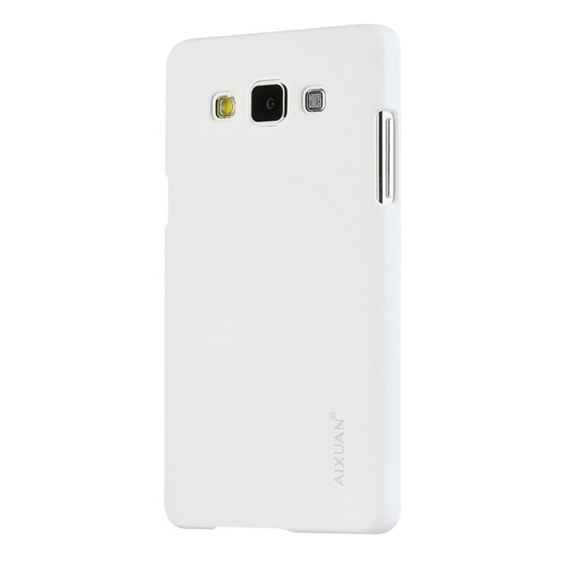 Aixuan Classic Frosted Shield Hard Plastic Back Case for Samsung Galaxy A5/A5000 (White) (Intl)