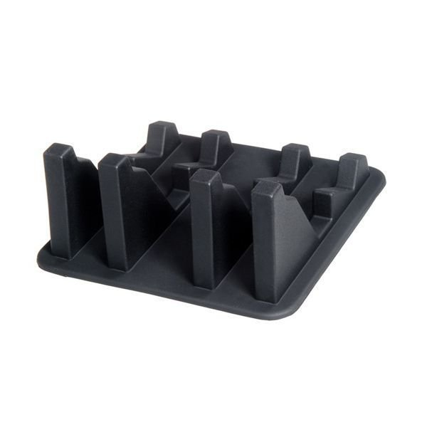 AJM Anti slip Silicone Cell Phone Holder Black