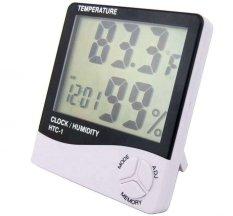AKA Digital Thermometer and Hygrometer HTC-1 / Pengatur Suhu Ruangan - Putih
